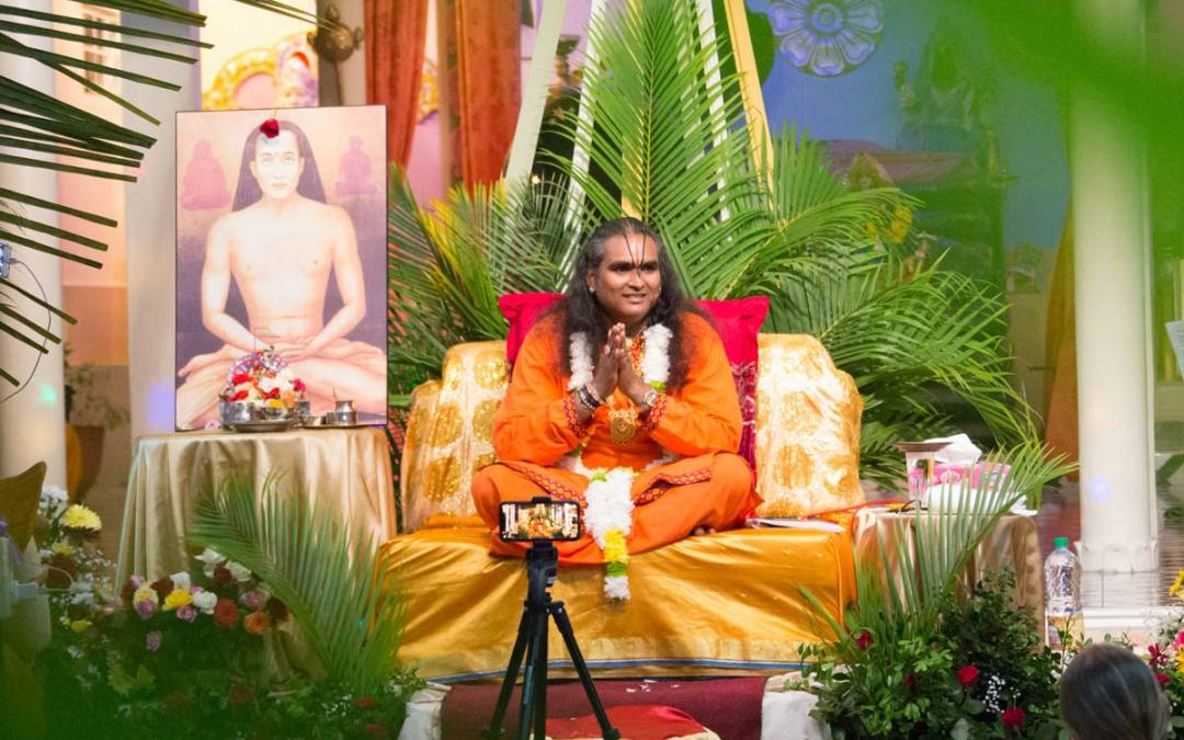 Interview with Guruji – Karma, Dharma, Chaos and Changes