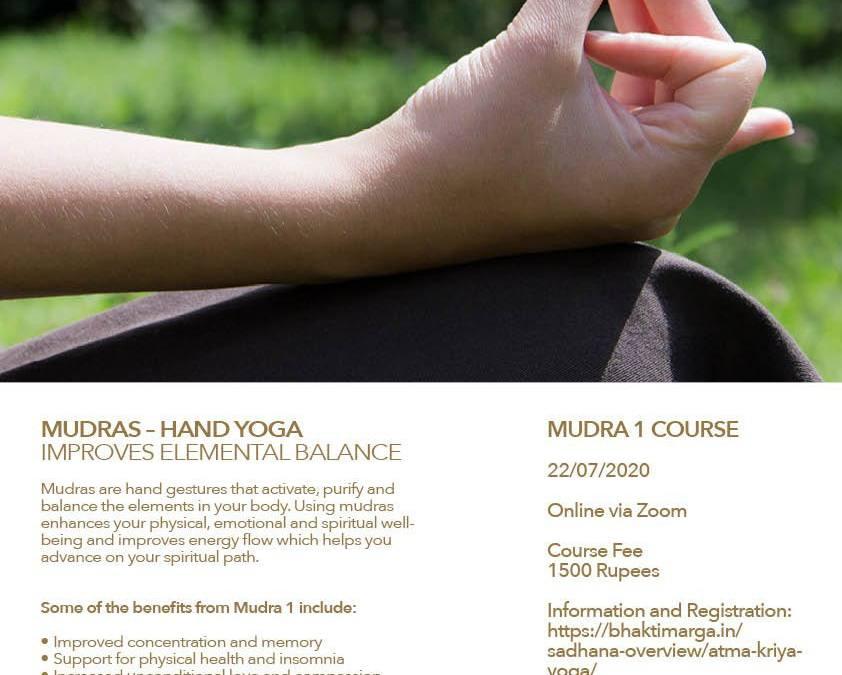 Online Mudra 1 Course with Swamini Vishwamohini